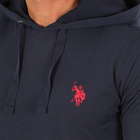 US Polo ASSN - Sweat Capuche 16952493-34502 Bleu Marine