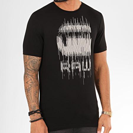 G-Star - Tee Shirt Graphic 6 D15600-B770 Noir