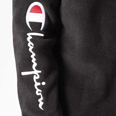 Champion - Sweat Col Zippé 213721 Noir