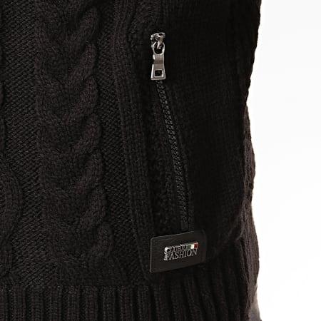 Classic Series - Veste Zippée Capuche 5108 Noir
