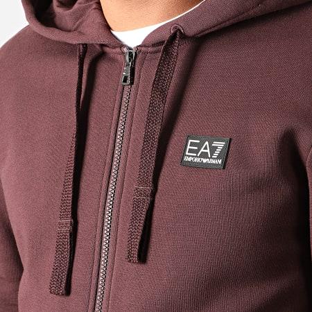 EA7 - Ensemble De Survetement 6GPV68-PJ07Z Bordeaux Noir