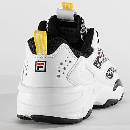 Fila - Baskets Femme Ray Tracer 1010841 Blanc Leopard