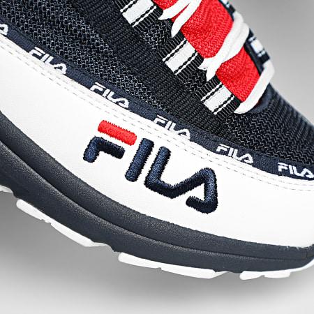 Fila - Baskets DSTR97 1010713 White Fila Navy