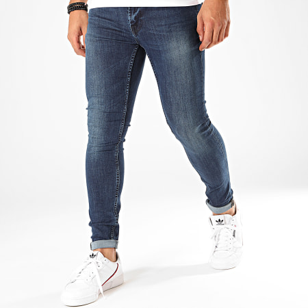 Only And Sons - Jean Skinny Warp Bleu Brut