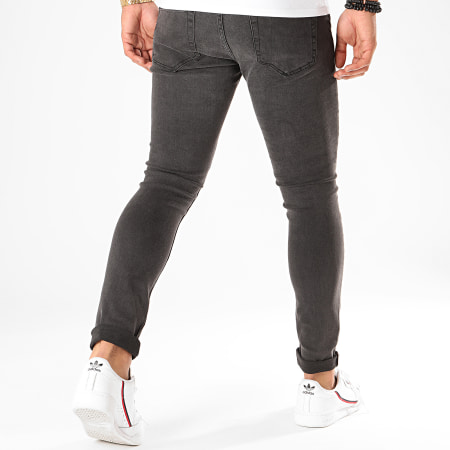 Only And Sons - Jean Skinny Warp Gris Anthracite