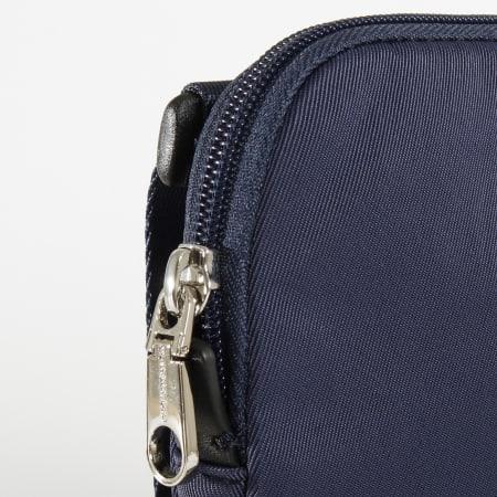 Calvin Klein - Sacoche Monogram Nylon Micro FP 5245 Bleu Marine