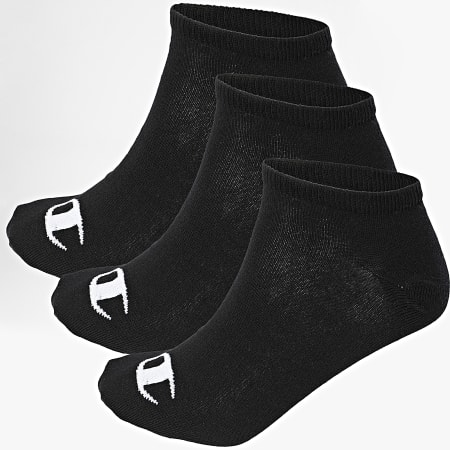 Champion - Lot De 3 Paires De Chaussettes Y08QI Noir