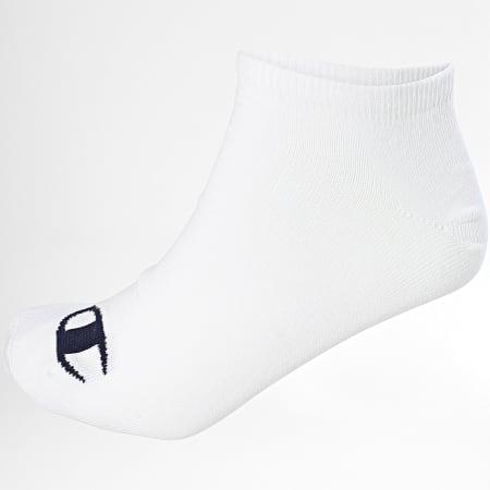 Champion - Lot De 3 Paires De Chaussettes Y08QI Blanc Noir Gris