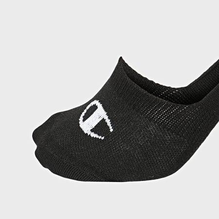 Champion - Lot De 2 Paires De Chaussettes invisiblesY08QK Noir