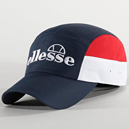 Ellesse - Casquette Sonara Bleu Marine Blanc Rouge