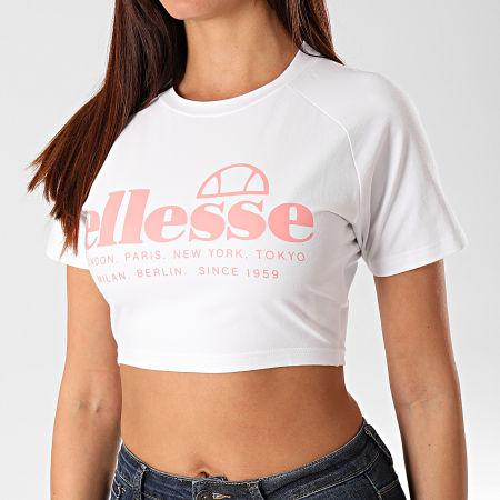 Ellesse - Tee Shirt Crop Femme Topolino SGD08002 Blanc