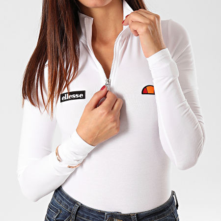 Ellesse - Body Femme Manches Longues Giganto SGD08028 Blanc