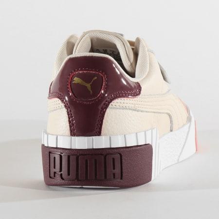 Puma - Baskets Femme Cali Remix 369968 Pastel Parchment Bridal Rose