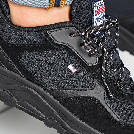 Tommy Hilfiger - Baskets Fashion Mix 2582 Black
