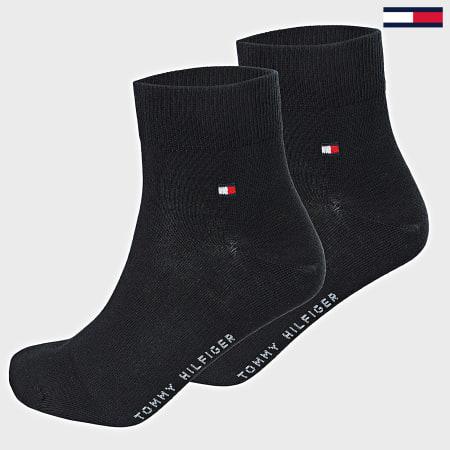 Tommy Hilfiger Jeans- Lot De 2 Paires De Chaussettes 342025 Bleu Marine