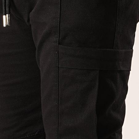 Uniplay - Pantalon Cargo Skinny PNS-3 Noir
