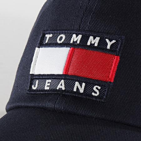Tommy Hilfiger Jeans - Casquette Heritage Flag 5836 Bleu Marine Réfléchissant