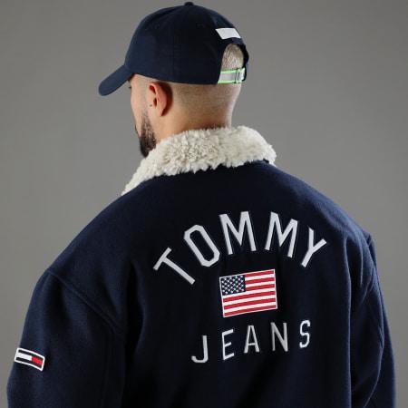 Tommy Jeans - Casquette Heritage Flag 5836 Bleu Marine Réfléchissant
