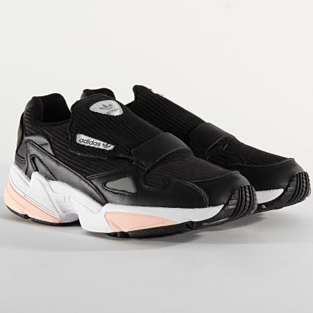 adidas - Baskets Femme Falcon RX EE5112 Core Black Glow Pink ...