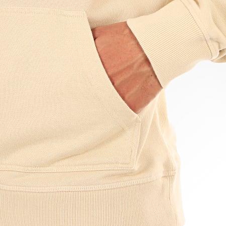 Calvin Klein - Sweat Capuche Washed Relax Monogram 3219 Beige