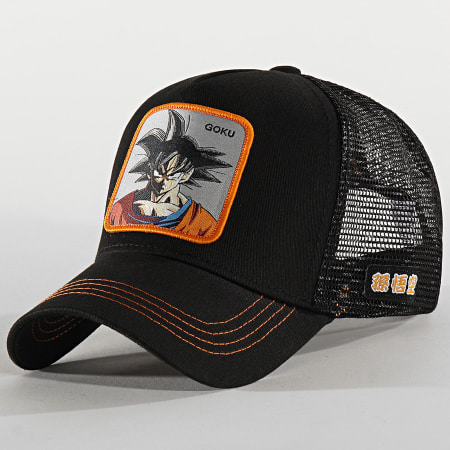 Dragon Ball Z - Casquette Trucker Goku Noir