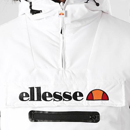 Ellesse - Parka Col Zippé Fourrure Paganella SHD09143 Blanc