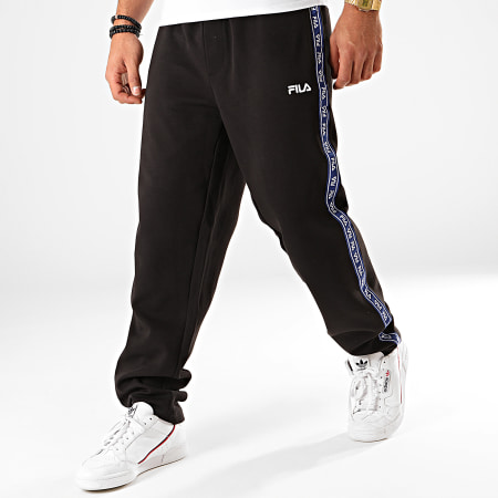 Fila - Pantalon Jogging A Bandes Usman 687357 Noir