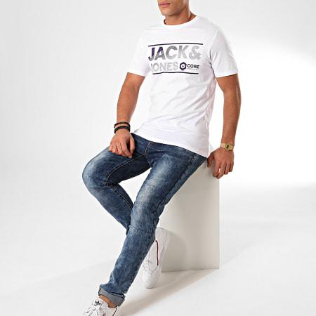 Jack And Jones - Tee Shirt Sead Blanc