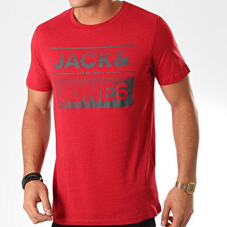 Jack And Jones - Tee Shirt Sead Rouge