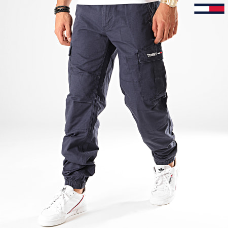 Tommy Hilfiger Jeans - Jogger Pant Cargo 7386 Bleu Marine