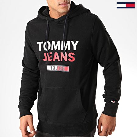 Tommy Hilfiger Jeans - Sweat Capuche Essential Graphic 7414 Noir