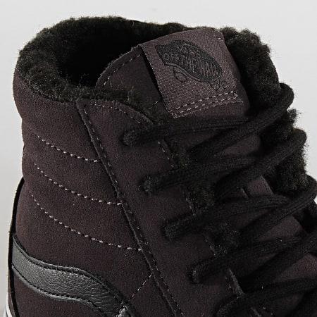 Vans - Baskets Sk8 Hi Suede Sherpa BV6TC1 Obsidian Black