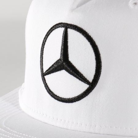 AMG Mercedes - Casquette Hamilton Driver Blanc