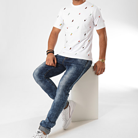 Berry Denim - Tee Shirt JB18096 Blanc