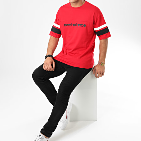 New Balance - Tee Shirt 740140 Rouge