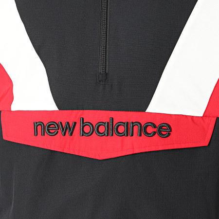 New Balance - Veste Col Zippé Capuche 741380 Noir
