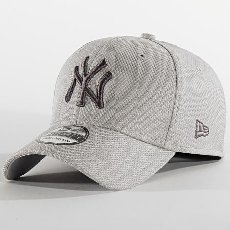 New Era -  Casquette Fitted 39Thirty Team 12134683 New York Yankees Gris