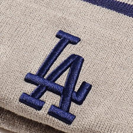 New Era - Bonnet OTC Bobble Knit 12134850 Los Angeles Dodgers Gris Bleu Roi