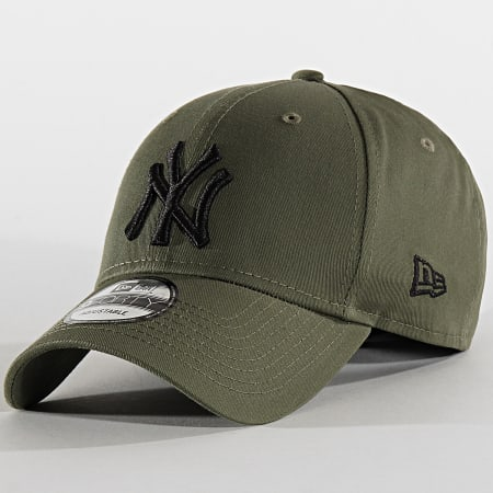 New Era - Casquette Baseball 9Forty League Essential New York Yankees 12134893 Vert Kaki Noir