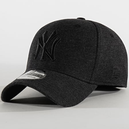 New Era - Casquette Fitted 39Thirty Jersey Essential 12134961 New York Yankees Noir Chiné
