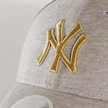 New Era - Casquette Femme 9Forty Jersey 12134965 New York Yankees Gris Clair