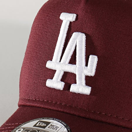 New Era - Casquette Enfant 9Forty League Estl A Frame 12145448 Los Angeles Dodgers Bordeaux