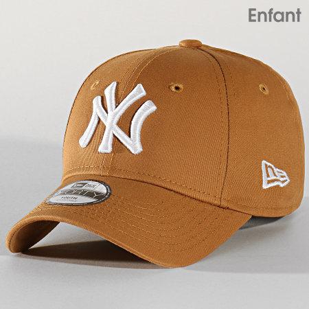 New Era - Casquette Enfant 9Forty League Estl 12145451 New York Yankees Camel