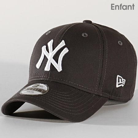 New Era - Casquette Enfant 9Forty League Essential 12145456 New York Yankees Gris