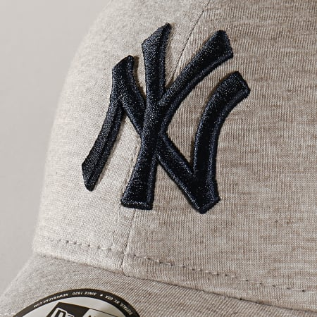 New Era - Casquette 9Forty Jersey 12151075 New York Yankees Gris Clair