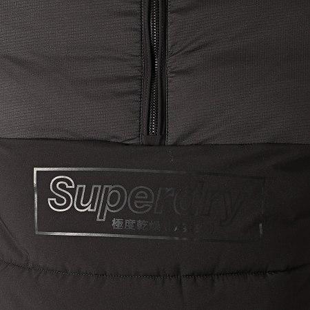Superdry - Doudoune Col Zippé Capuche Nu Padded M5000122A Noir