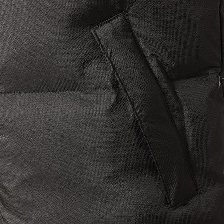 John H - Doudoune Chauffante Sans Manches 99-1 Noir