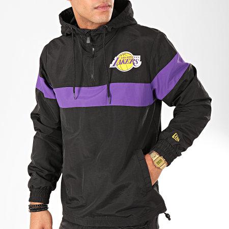 New Era - Coupe-Vent NBA Los Angeles Lakers Noir Violet