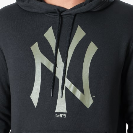 New Era - Sweat Capuche MLB Seasonal Team Logo New York Yankees 12123928 Noir