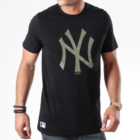 New Era - Tee Shirt MLB Seasonal Team Logo New York Yankees 12123934 Noir